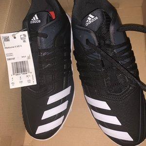 Adidas afterburner size 4.5 boys baseball cleats